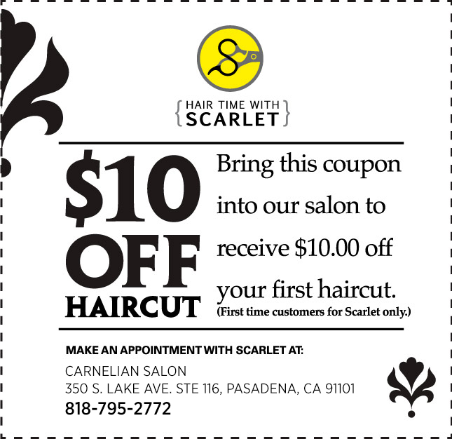 Haircut coupons riverside ca
